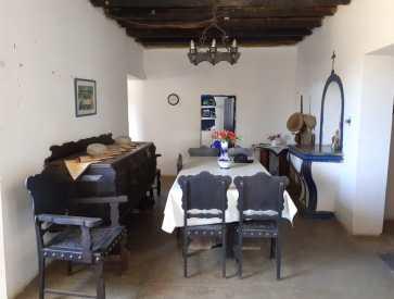 Fazenda Horizonte - sala jantar oratório
