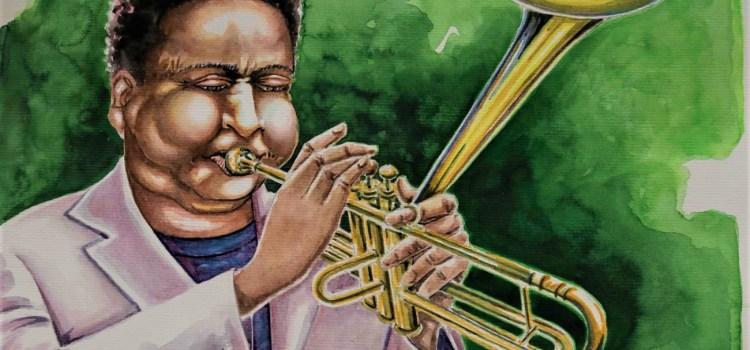 Telas com temáticas de jazz é a nova exposição de Fábio Eduardo