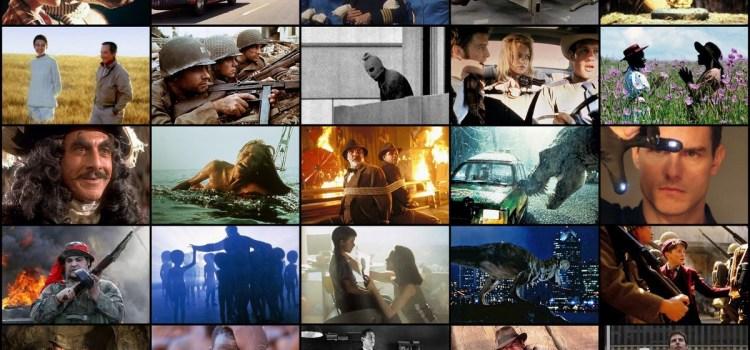 Os 10 melhores filmes de Steven Spielberg