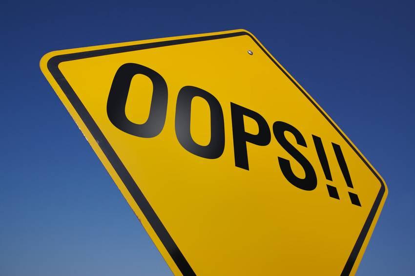 Erros não existem!