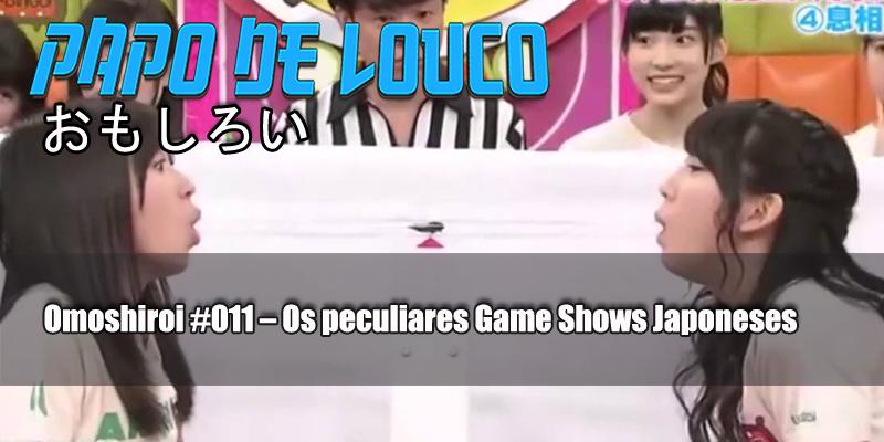 capa omoshiroi 011 - game show japones