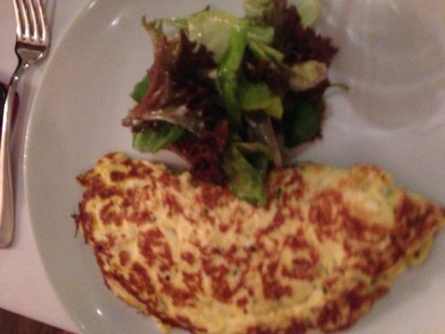 Omelete com recheio a sua escolha