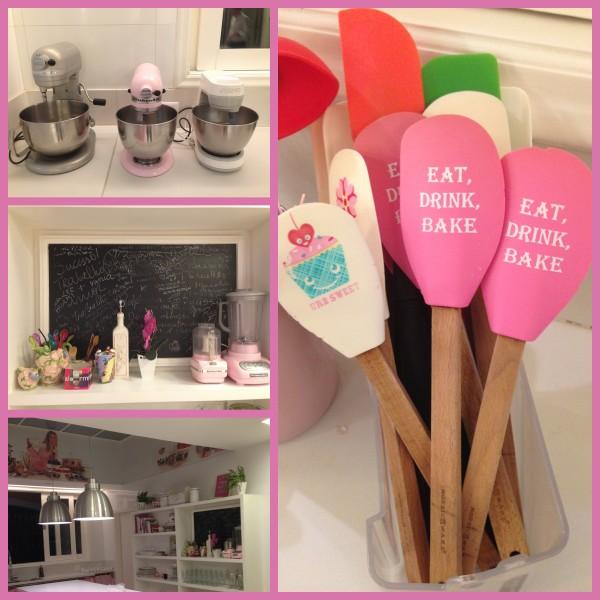 Cozinha e utensílios  lindos de morrer, quero uma assim também!!