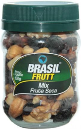 Ingredientes: Uva Passa Escura Argentina, Amêndoa Chilena Torrada e Salgada, Castanha do Pará, Castanha do Caju Torrada e Salgada e Nozes Chilenas.