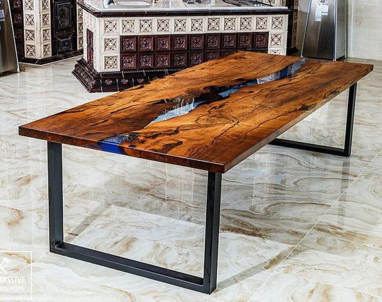 Amazing Resin Wood Table For Your Home Furniture 15