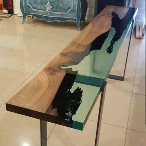 Amazing Resin Wood Table For Your Home Furniture 34
