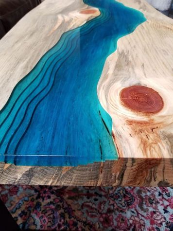 Amazing Resin Wood Table For Your Home Furniture 36