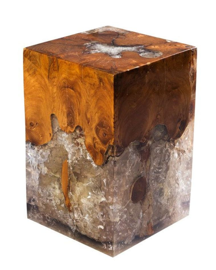 Amazing Resin Wood Table For Your Home Furniture 5