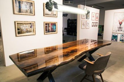 Amazing Resin Wood Table For Your Home Furniture 8
