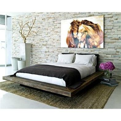 Cool Floating Bed Design Ideas 18