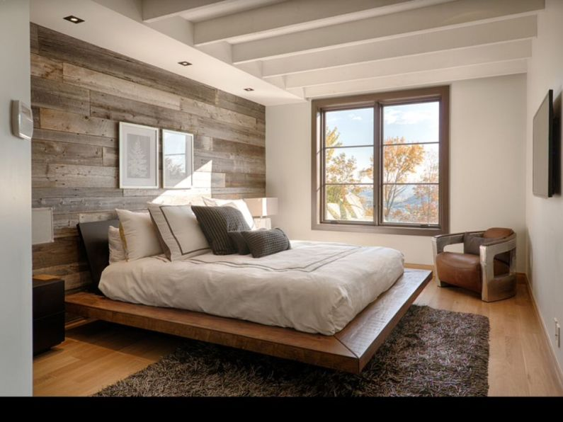 Cool Floating Bed Design Ideas 31