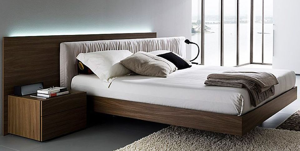 Cool Floating Bed Design Ideas