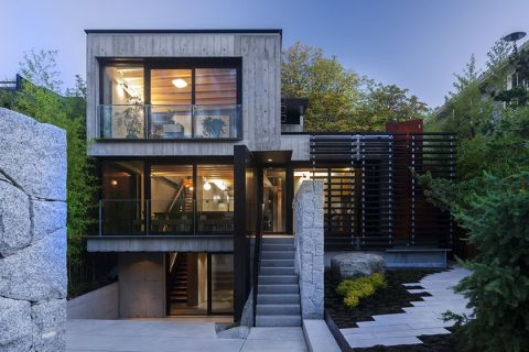 Modern Contemporary Urban House 50
