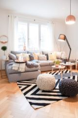 Awesome Modern Apartment Living Room Design Ideas 16