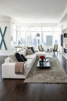 Awesome Modern Apartment Living Room Design Ideas 26