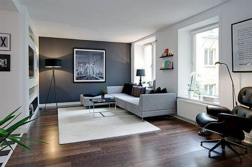 Awesome Modern Apartment Living Room Design Ideas 34