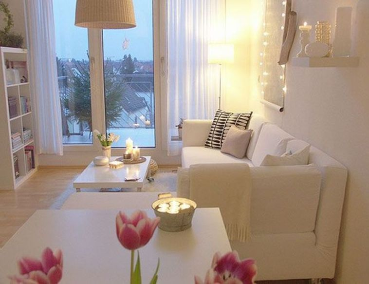 Awesome Modern Apartment Living Room Design Ideas 54