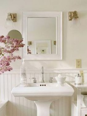 Awesome Rustic Country Bathroom Mirror Ideas 13