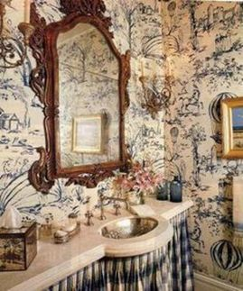 Awesome Rustic Country Bathroom Mirror Ideas 23