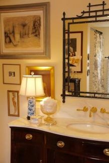 Awesome Rustic Country Bathroom Mirror Ideas 28