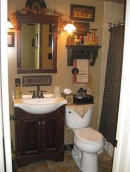 Awesome Rustic Country Bathroom Mirror Ideas 37