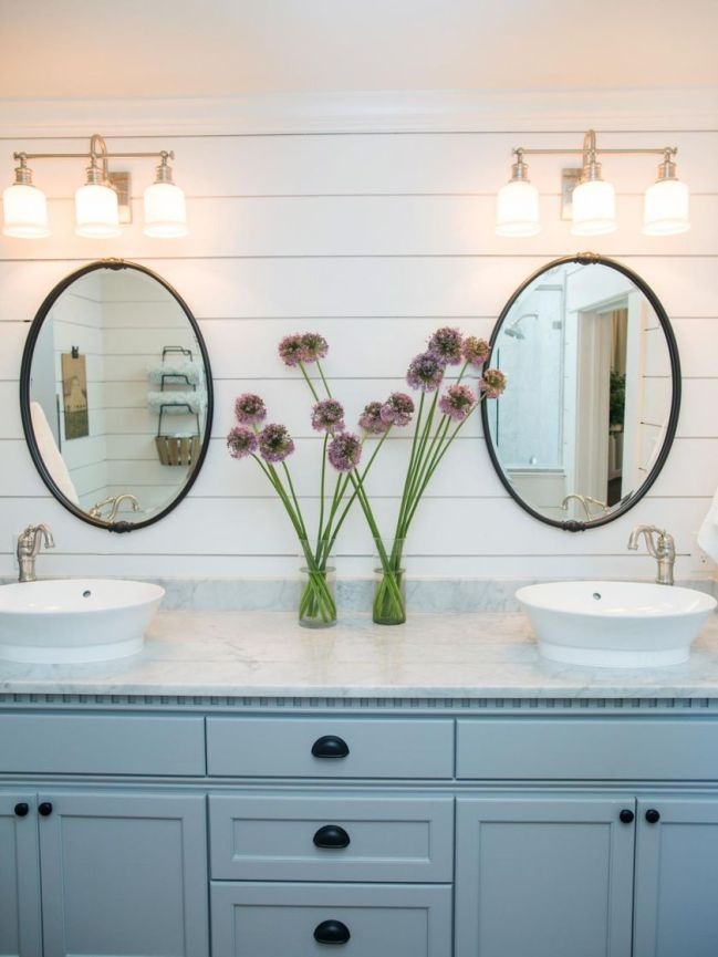 Awesome Rustic Country Bathroom Mirror Ideas 65