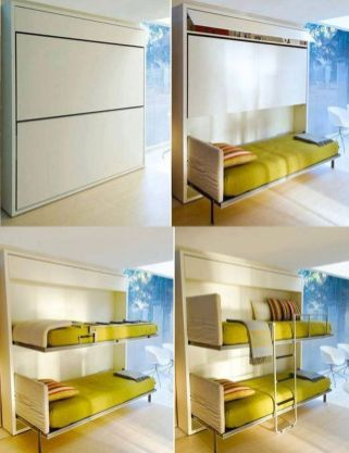 Awesome Small Bedroom Space Hacks Ideas 1