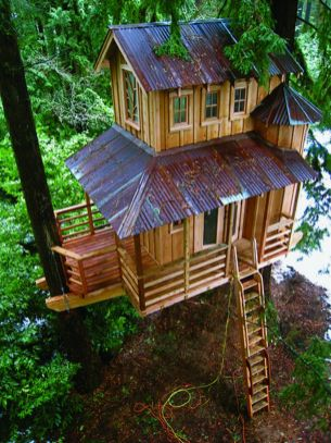 Awesome Treehouse Masters Design Ideas 1