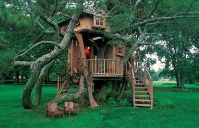 Awesome Treehouse Masters Design Ideas 11