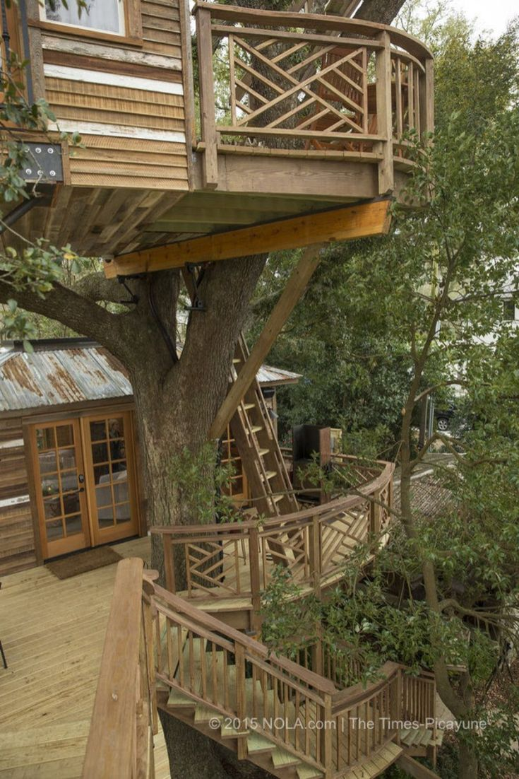 Awesome Treehouse Masters Design Ideas 24