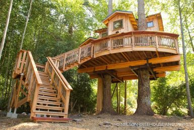 Awesome Treehouse Masters Design Ideas 44
