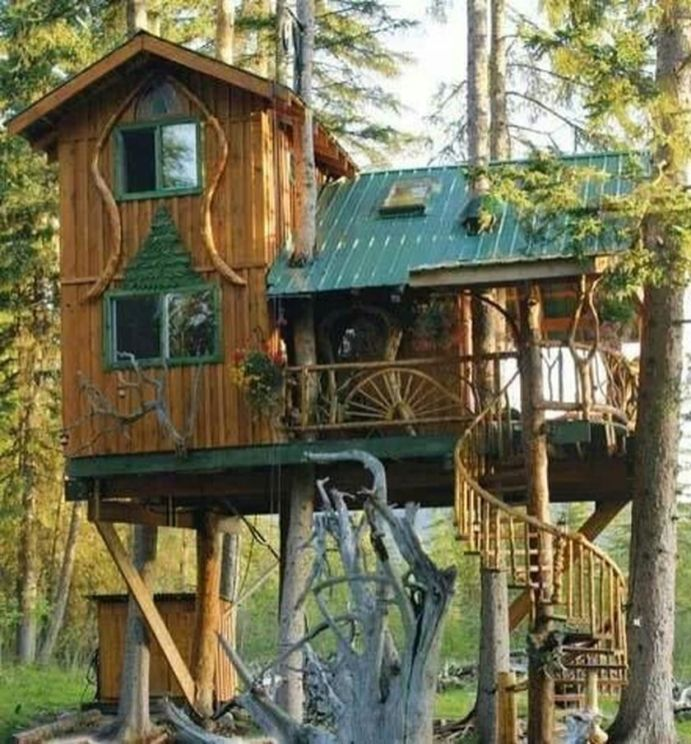 Awesome Treehouse Masters Design Ideas 51