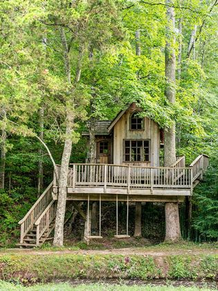 Awesome Treehouse Masters Design Ideas 57