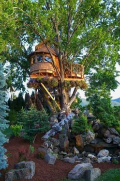 Awesome Treehouse Masters Design Ideas 70