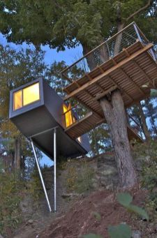 Awesome Treehouse Masters Design Ideas 85