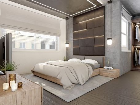 Cozy Modern Bedroom Design Ideas 49