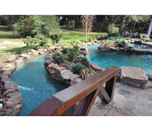 Lazy River Pool On Home Ideas 24