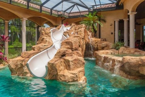 Lazy River Pool On Home Ideas 6