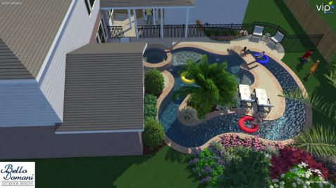 Lazy River Pool On Home Ideas 7