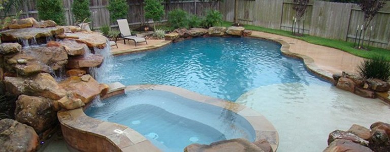 Natural Pool Ideas On Home Backyard Featured