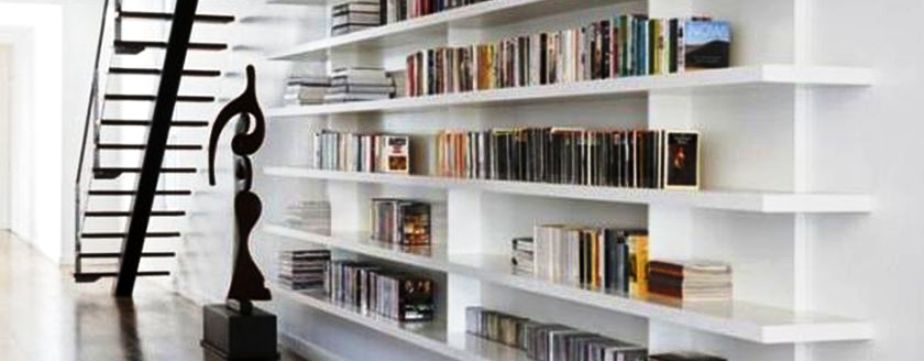 Open Shelving Ideas For Bookshelves Featured