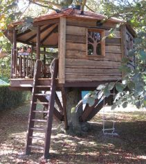 Simple Diy Treehouse For Kids Play 33