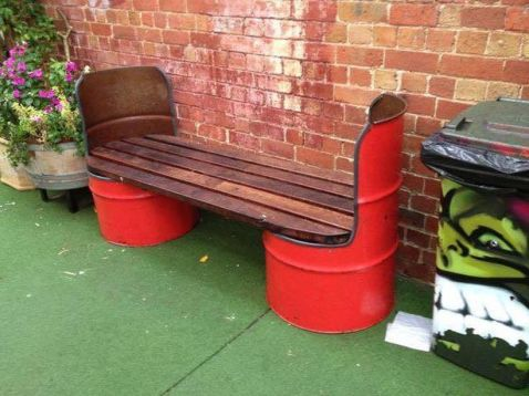 Amazing Creative Recycle Barrels Ideas For Your Home 25