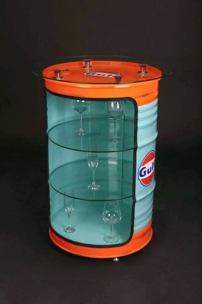 Amazing Creative Recycle Barrels Ideas For Your Home 9