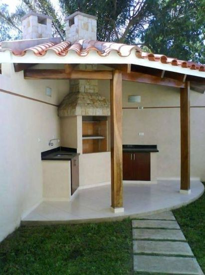 Awesome Grill Designs Ideas For Your Patio 4