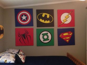 Awesome Superhero Themed Room Design Ideas 18