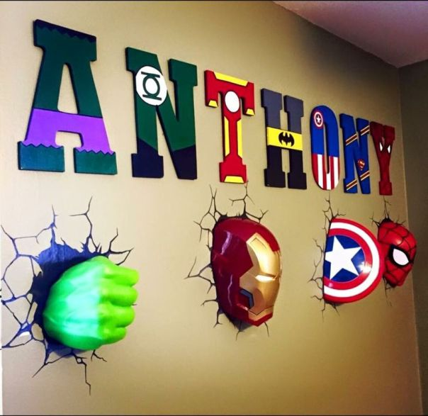 Awesome Superhero Themed Room Design Ideas 23