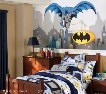 Awesome Superhero Themed Room Design Ideas 27