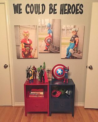 Awesome Superhero Themed Room Design Ideas 33