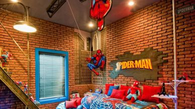 Awesome Superhero Themed Room Design Ideas 35